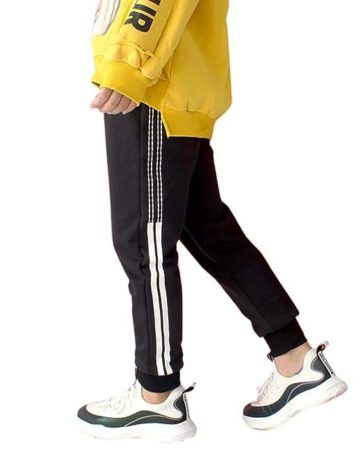 Liangzhu Pantalones Largos para Niños Niñas Jogging Chándal ...