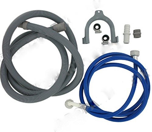 bartyspares-fill-water-pipe-and-drain-hose-extension-kit-for-hotpoint-ariston-indesit-washing-machin