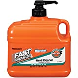 Permatex 23217-6PK Fast Orange Smooth Lotion Hand Cleaner with Pump - 1/2 Gallon, (Pack of 6)