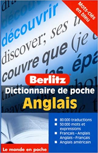 Amazon Fr Dictionnaire De Poche Francais Anglais Et