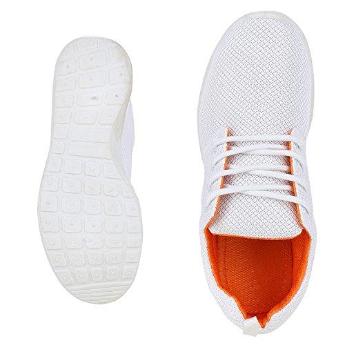 Japado - Zapatillas Hombre Weiss Orange