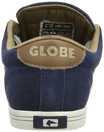 Globe Lighthouse-Slim, Zapatillas Unisex Adulto Blau (navy/tan 13185)