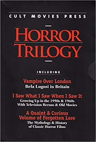 The Cult Movies Press Horror Trilogy Boxed Set: Frank J