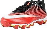 Nike Mens Vapor Shark 2 Football Cleats ( University Red/Black/Total Crimson/White , 11 D (M) US )