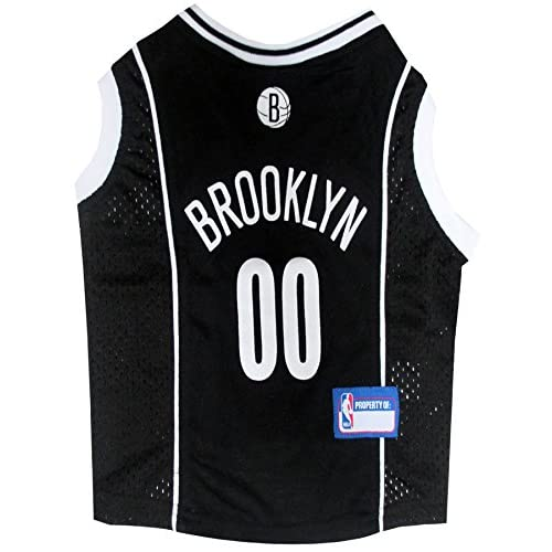 Pets First NBA Brooklyn Nets Mesh Jersey, Medium