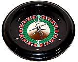 Roulette Wheel of Black ABS Plastic