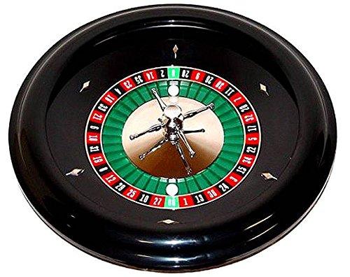 Roulette Wheel of Black ABS Plastic