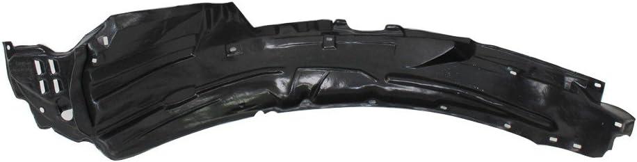 Titanium Plus Autoparts 2006-2011 Compatible With HONDA Civic Front Right Passenger Side splash guard splash shield fender liner Liner Apron HO1249134