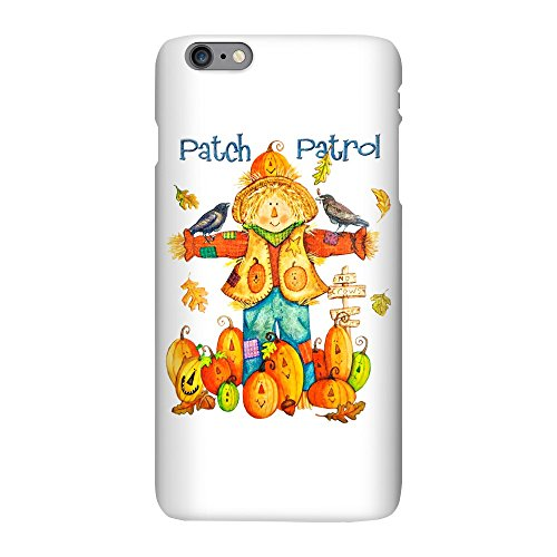 iPhone 6 Plus Slim Case Halloween Scarecrow Pumpkins Crows -