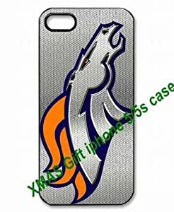Pink Ladoo? Fitted Case For HTC One M8 Cover NFL Denver Broncos logo back covers for a Christmas gift by hiphonecases