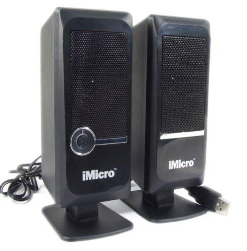 Usb System Digital Speaker (iMicro Pure USB Digital USB2.0 Speaker System (Black))