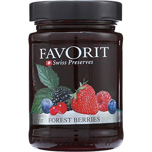 (Favorit Preserves, Berry, 12.30-Ounce (Pack of 6))