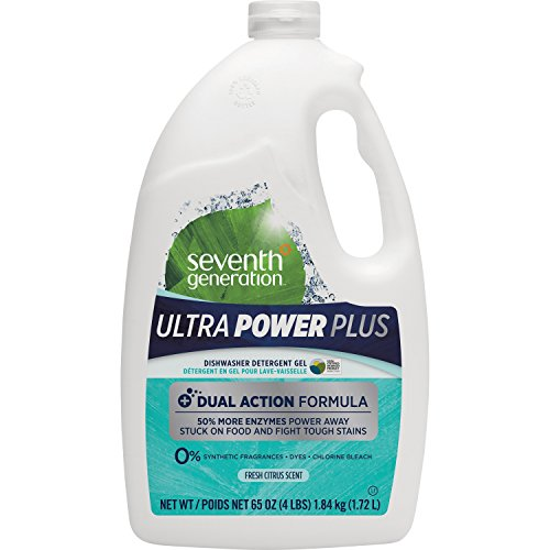 Seventh Generation Ultra Power Plus Natural Auto Dish Gel, F