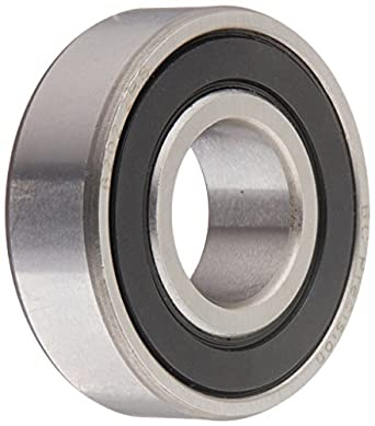 uxcell motor premium 6202 2rs double sealed ball bearing deep rh amazon com Flanged Ball Bearings Double Row Ball Bearing