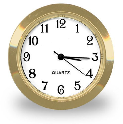 Clock Insert In Popular 1-7/16