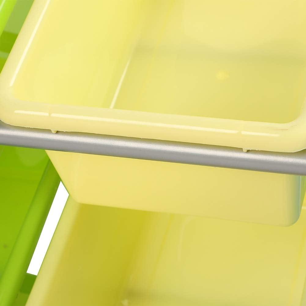 lyrlody Bambini Mensola Scatole,Organizzatore di Giocattoli per Bambini,Libri Giocattoli Organizzatore,Scaffale Legno con 9 Cesti in Plastico Tre Piani,65 60 26.5cm