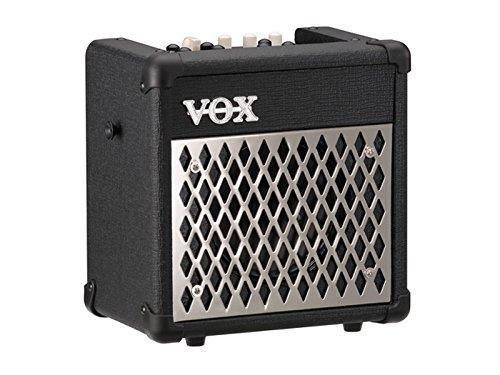 Vox MINI5R Battery Powered Amplifier with Rhythm, 5W, 1 x 6.5'', Black by Korg