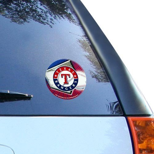 MLB Texas Rangers Round Decal ()