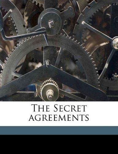 The Secret agreements ebook
