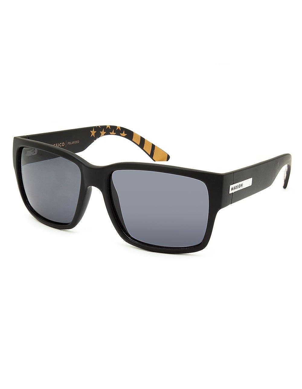 Amazon.com: MADSON Classico Polarized Sunglasses, Matte ...