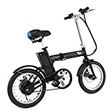 PEATAO Folding Electric Bicycle Set outdoor sport bike, 36V Lithium Battery 250W Powerful Brushless Gear Motor
