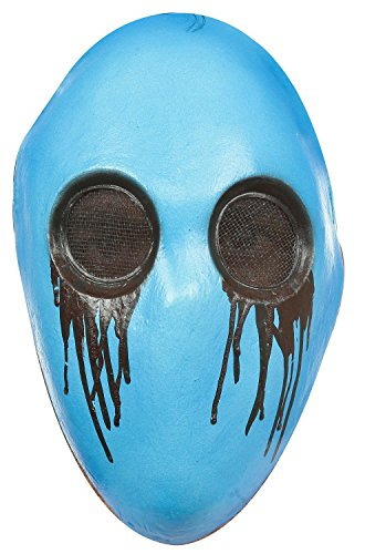 Full Face Latex Eyeless Jack Costume Mask ()