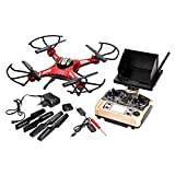 Voomall JJRC H8D 5.8G 4CH 6-Axis Drone Real-time Video FPV Headless Mode One Key Return RC Quadcopter With 2.0MP HD Camera [US in Stock]