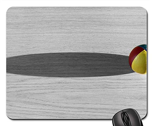 Mouse Pads - Ball Color Paul Shadow Background Comet Fly