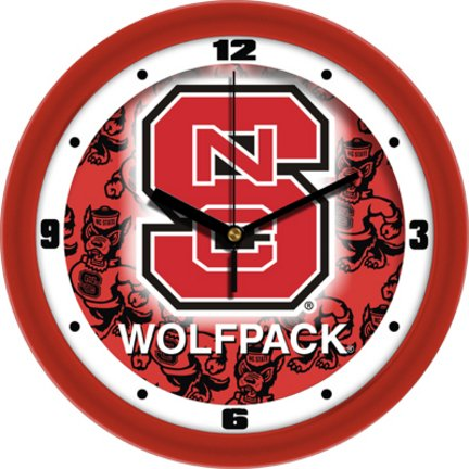 (NC State Wolfpack NCSU NCAA 12In Dimension Wall Clock)