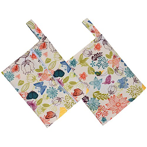 Little Story Reusable Washable Wet Bag for Sanitary Pad Menstrual Sanitary Aunt Bag A by Little Story (Image #1)