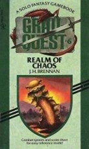 REALM OF CHAOS (Grail Quest), Brennan, J.H.