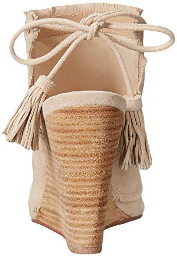 Chinese Laundry Kristin Cavallari Women's Latakia Wedge Sandal, Tuscan Sand Vanilla Suede
