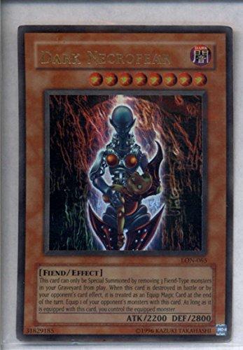 - Dark Necrofear Yugioh LON-065 Holo Foil Rare Yu-Gi-Oh NM-MT TCG CGG
