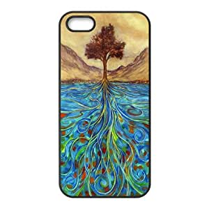 -ChenDong PHONE CASE- For Apple Iphone 5 5S Cases -Love Tree-UNIQUE-DESIGH 3