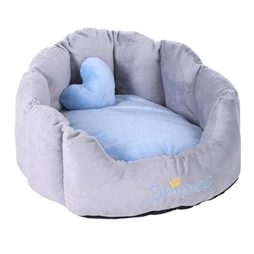 Cómodo Snuggle cama Príncipe Princesa gatos perros lavable: Amazon.es: Productos para mascotas