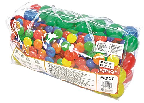 By PoolCentral Club Pack of 100 Multi Colored Play Balls (Play Club Penguin Halloween)