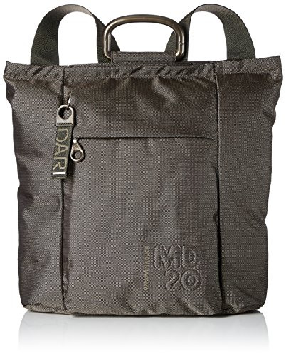 7109489f1 Mandarina Duck Md20 Tracolla, Women's Shoulder Bag, Braun (Pirite), 9x34x32  cm
