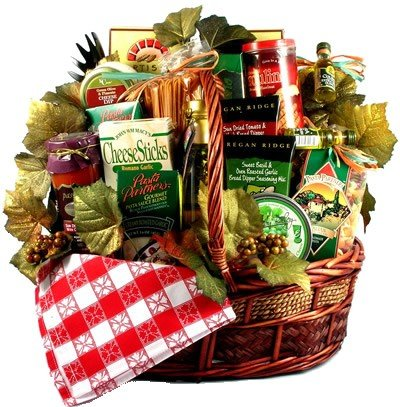 Deluxe Family Christmas, Large Italian Holiday Basket