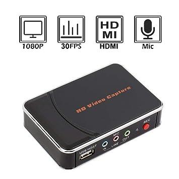 Caja de Captura HD, Tarjeta de Captura de Juegos HDMI ...