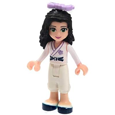 LEGO Friends Loose Emma Minifigure [Karate Uniform Loose]: Toys & Games