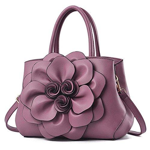 Solo GWQGZ La Y Nuevo Hombro Conciso Bolso Femenina Moda Violet De Violeta rqfYBCqxw