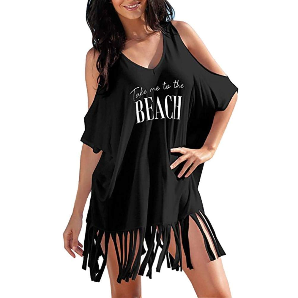a8a31d284f976 Online Cheap wholesale Forthery Summer Women's Bathing Suit Cover Up Beach  Bikini Cold Shoulder Tassel Crochet Dress Cover-Ups Suppliers