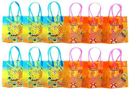 SpongeBob SquarePants Party Favor Goodie Gift Bag - 6