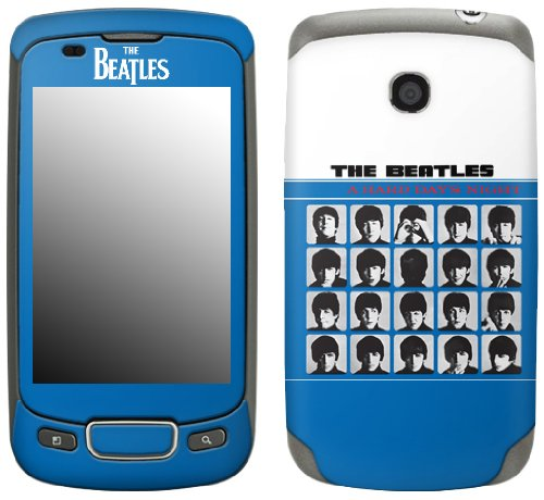 MusicSkins, MS-BEAT80248, The Beatles - A Hard Day's Night, LG Optimus T (P509), Skin