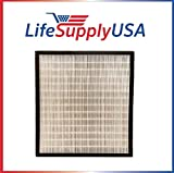 LifeSupplyUSA Replacement HEPA fits Alen FF50 HEPA-Pure Filter fits BreatheSmart FIT50 Air Purifier FIT 50
