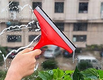 Vale® jabón limpiador escobilla para limpiaparabrisas de ventana de cristal Home ducha baño espejo hoja de Coche Cepillo Color al azar: Amazon.es: Hogar