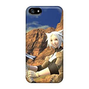 Awesome Design Final Fantasy Xiv A Realm Reborn Hard Case Cover For Iphone 5/5s