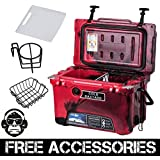 20QT CAMO RED COLD BASTARD Rugged Series ICE CHEST COOLER Free Accessories YETI Quality Free S&H