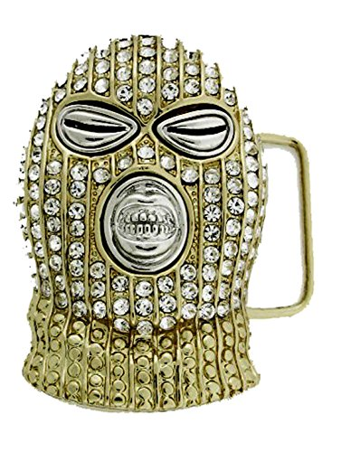 HIP HOP BLING ICED OUT Gold Tone The Boondocks BELT BUCKLE (Out Buckle Iced Belt)