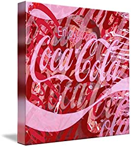 Wall Art Print entitled Coca-Cola Collage by Tony Rubino | 24 x 24